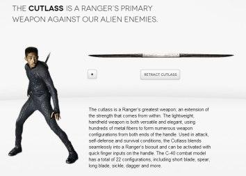 Cutlass weapon