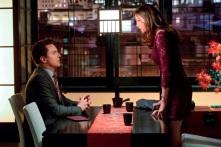 Laurel (Katie Cassidy) confronts Malcolm (John Barrowman)