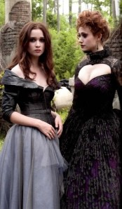 Alice Englert as Lena Duchannes and Emmy Rossum as Ridley Duchannes