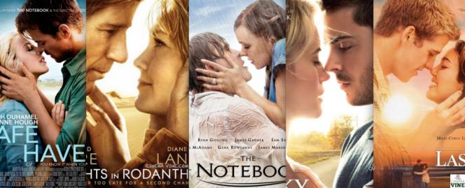 Nicholas Sparks movie posters