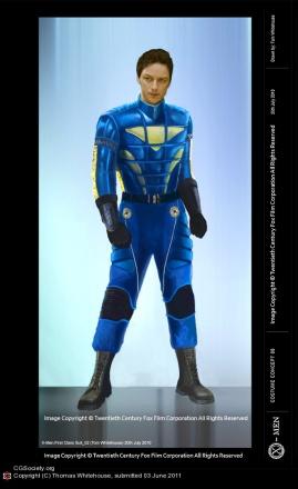 X-Men concept art courtesy of Thomas Whitehouse