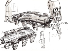 """""""Before working on the Mk 7 suit with the Visual Development team, I was initially brought into the Art Department to work on the Helicarrier."""""""