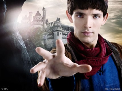 Colin Morgan as Merlin in Merlin
