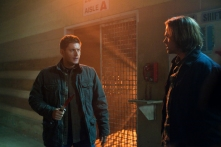 Dean and Sam in one of their meaningful talks, possibly