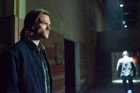 Jared Padalecki as moody Sam Winchester
