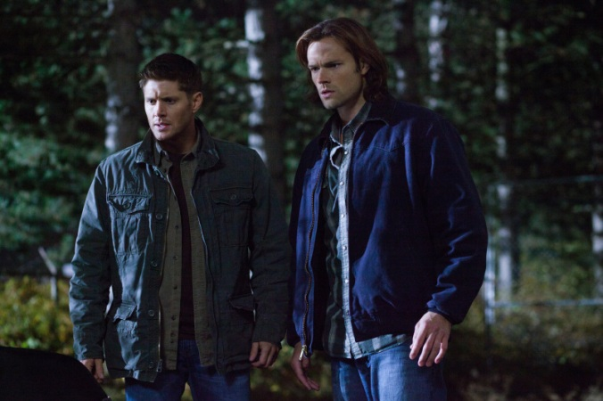 Sam and Dean Winchester looking astounded