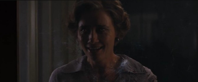 A scary looking Emma Thompson
