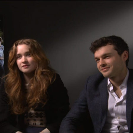 WATCH: Check out our exclusive Beautiful Creatures interview with Alice Englert and Alden Ehrenreich - Celebs & Entertainment News - handbag.com