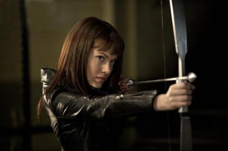 Anna Van Hooft as Artemis