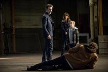 John Novak as Zeus, Brooke Langton as Hayley, Callum Seagram Airlie as Oliver, and John Reardon as Prometheus