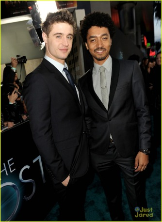 Max Irons and Shawn Carter Peterson