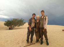 thehost-Lee-Frances-and-Jake-BTS