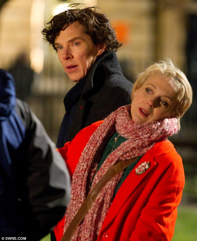 Amanda Abbington Sherlock Wedding  Image source Fanpop