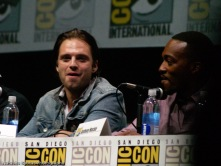 Captain America: The Winter Soldier panel