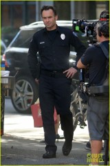 Exclusive... Stars On The Set Of 'Arrow'